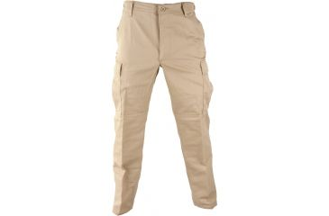 Propper Genuine Gear BDU Trouser, 60/40 Cotton/Poly Ripstop, Small - Long,  Khaki