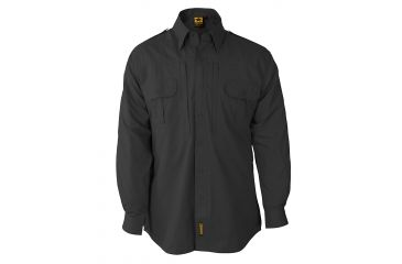 Propper Propper Lightweight Tactical Shirt w/ Long Sleeves, Charcoal Grey, Size Large Long F531250015L3