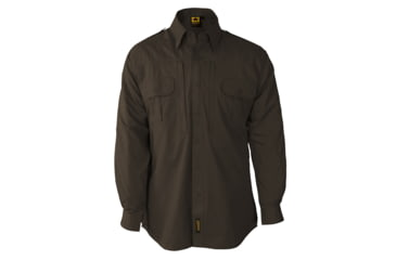 Propper Propper Lightweight Tactical Shirt w/ Long Sleeves, Sheriff Brown, Size Large Long F531250200L3