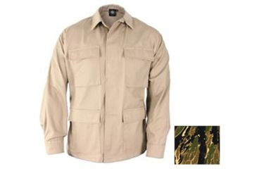 Propper Mens Genuine Gear BDU Coat 60C/40P Asian Tiger Stripe 3XL Reg F5450253363XL2
