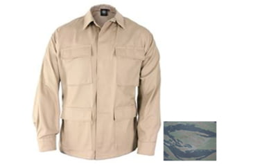 Propper Mens Genuine Gear BDU Coat 60C/40P Tiger Stripe 3XL Reg F5450253353XL2