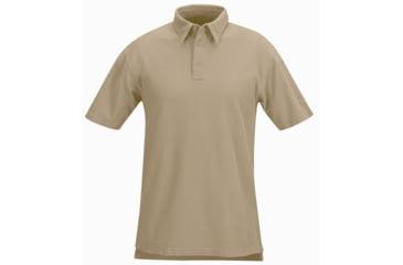 Propper Mens Short Sleeve Cotton Polo Shirt Tan 3XL F5323952263XL