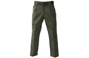 Propper Men's Tactical Trouser, 65/35 Poly/Cotton Canvas, Choose Size Waist 32, Inseam 36, Choose Color Olive Green