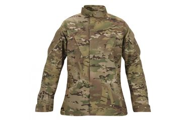 1-Propper MultiCam Combat Coat, 65/35 Poly/Cotton Battle Rip