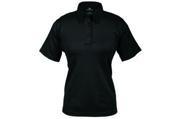 Propper Women's I.C.E. Performance Polo Short Sleeve Shirt, Black, Large Regular F532772001L