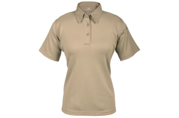 Propper Women's I.C.E. Performance Polo Short Sleeve Shirt, Silver Tan, Large Regular F532772226L