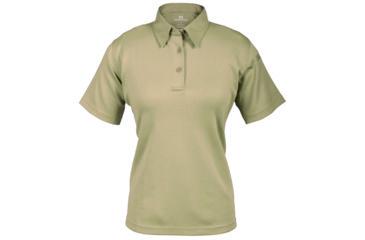 Propper Women's I.C.E. Performance Polo Short Sleeve Shirt, Silver Tan, Extra Large Regular F532772226XL