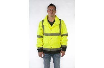 Utility ProWear High Visibility Rain Jacket Class 3