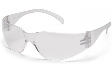 Pyramex 4100 Series Safety Glasses - Clear-Hardcoated Lens, Clear Frame S4110S