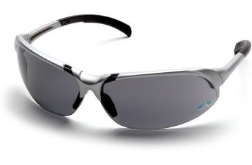 Pyramex Accurist Safety Glasses - Gray Lens, Silver Frame SSV4720D