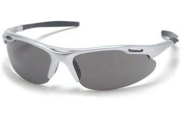 Pyramex Avante Safety Glasses - Gray Lens, Silver Frame SS4520D