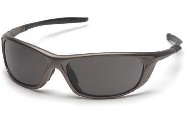 Pyramex Azera Safety Glasses - Gray Lens, Pewter Frame SP4420D