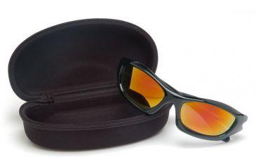 Pyramex Black Hard Spectacle Case CA500B