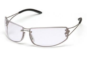 Pyramex Blazer Safety Glasses - Clear Lens, Ultra Lite Metal Frame SM4210D