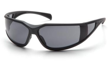 Pyramex Exeter Safety Glasses - Gray Anti-Fog Lens, Charcoal Gray Frame SCG5120DT