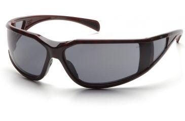 Pyramex Exeter Safety Glasses - Gray Anti-Fog Lens, Tortoise Shell Frame ST5120DT