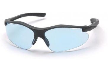 Pyramex Fortress Safety Eyewear - Infinity Blue Lens, Black Frame SB3760D
