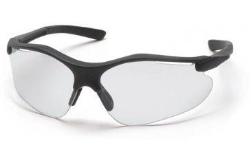 Pyramex Fortress Safety Glasses - Clear Lens, Black Frame SB3710D