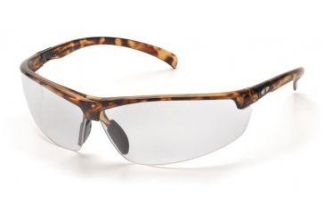 Pyramex Forum Safety Glasses - Tortoise Shell Frame, Clear Lens