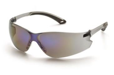 Pyramex Itek Gray Temple Frame Blue Mirror Lens S5875S