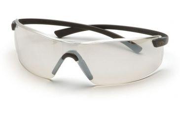Pyramex Montego Safety Glasses - Indoor/Outdoor Mirror Lens, Black Frame SB5380S
