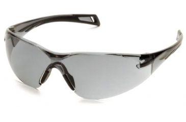 Pyramex PMXSlim Safety Glasses, Matte Black Frame & Gray Lens SB7120S