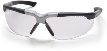 Pyramex Reatta Safety Glasses - Clear Lens, Black-Silver Frame SBS4810D