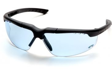 Pyramex Reatta Safety Glasses - Infinity Blue Lens, Charcoal Frame SCH4860D