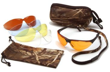 703973b94e16 Ducks Unlimited Rendezvous Shooting Glasses - Black Frame