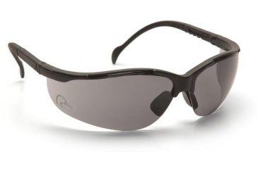 Pyramex Rendezvous Ducks Unlimited Shooting Glasses - Gray Lens, Black Frame DUSB2820ST