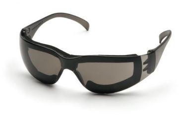 Pyramex Intruder Safety Glasses Pack of 12, Gray Frame, Gray Anti-Fog Lens S4120STFP