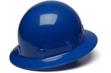 Pyramex Sleek Shell Full Brim 4 Point Ratchet Suspension Hard Hat - Blue HPS24160