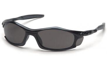 Pyramex Solara Safety Glasses - Gray Lens, Black Frame SB4320D, 12 Pack