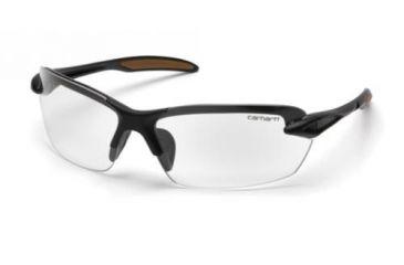 Pyramex Spokane Safety Glasses, Clear Lens w/ Black Frame CHB310D