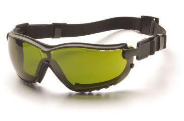 Pyramex V2G Welding Goggles - Black Frame, 3.0 IR Filter Lens