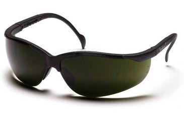 Pyramex Venture II Safety Glasses - 3.0 IR Filter Lens, Black Frame SB1860SF