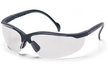 Pyramex Venture II Safety Glasses - Clear Lens, Slate Gray Frame SSG1810S