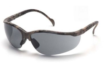 Pyramex Venture II Safety Glasses - Gray Lens, Real Tree HW Frame SH1820S6