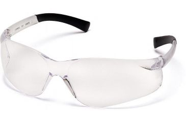 Pyramex Ztek Safety Glasses - Clear Lens, Clear Frame S2510S