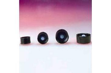 Qorpak Black Phenolic Screw Caps, Poly-Seal Liner, Qorpak 5029/12
