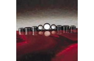 Qorpak Black Phenolic Screw Caps, Pulp/Vinyl Liner, Qorpak 5023/12