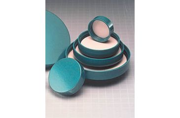 Qorpak Green Thermoset Screw Caps, Fluoropolymer Resin Liner, Qorpak 5207/100