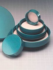 Qorpak Green Thermoset Screw Caps, Fluoropolymer Resin Liner, Qorpak 5212/100