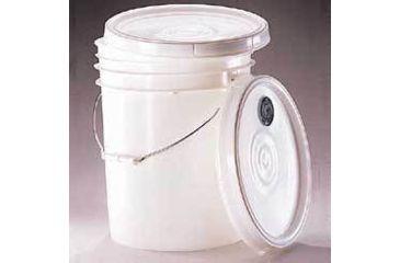 Qorpak Pails and Lids, High-Density Polyethylene, Qorpak 7011 Pails 3.8 L (1 gal.)