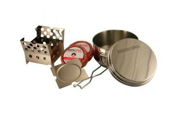 1-QuickStove Emergency and Camp Cook Stove Kit