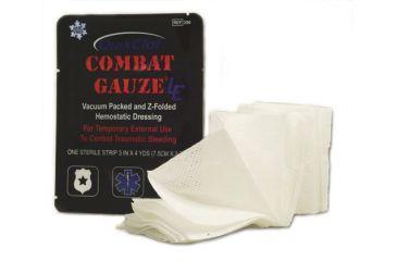 """QuikClot Combat Gauze LE Z-Fold 3"""" wide x 4 yards - Pack of 50 350-CS 350-CS"""