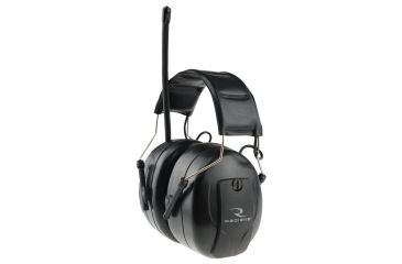 Radians AM/FM Electronic Earmuff, Black Earcup, One Size AMFMD1C