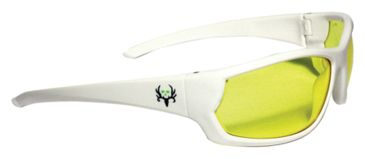Radians Bone Collector Covey Shooting Glasses Amber Lens/White Frame