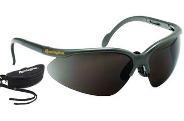 Radians Comfortable & Lightweight Smoke Shooting Glasses w/Case T6010C