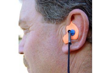 Radians Custom Molded Earplugs - Retail Box with Blue Plugs CEP002-B
